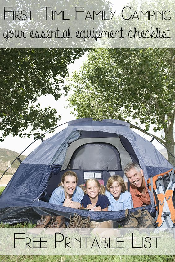 Setting off for your first family camping trip can be daunting especially if you don't have the equipment already. Here's our family camping equipment checklist that includes the essentials for easing you into family camping for the first time and you can download it for FREE!