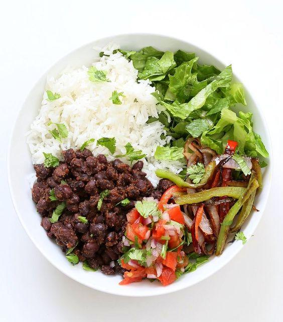 ... diy and crafts glutenfree black bean burrito fresh burrito bowls beans