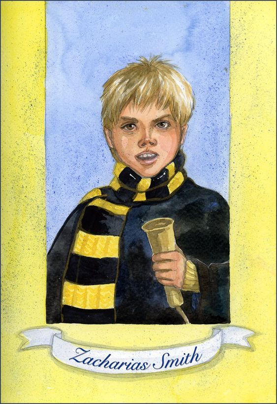 Zacharias Smith With Brown Eyes Harry Potter Artwork Harry Potter Characters Nymphadora Tonks