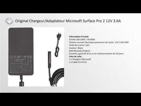 Chargeur Surface Pro 2 30chargeur Com Youtube Microsoft Surface Microsoft Surface Pro Surface Pro 2