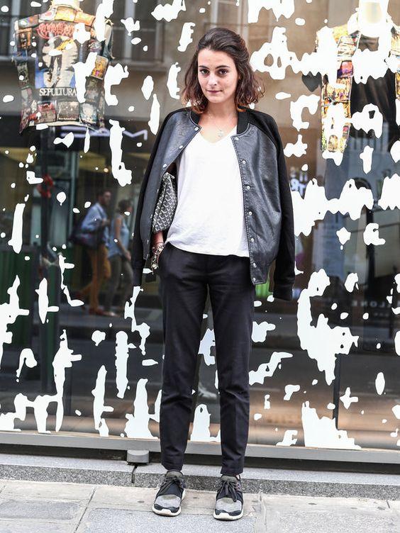 【ELLE】パリジェンヌのストリートスタイルは、こなれ感命|エル・オンライン