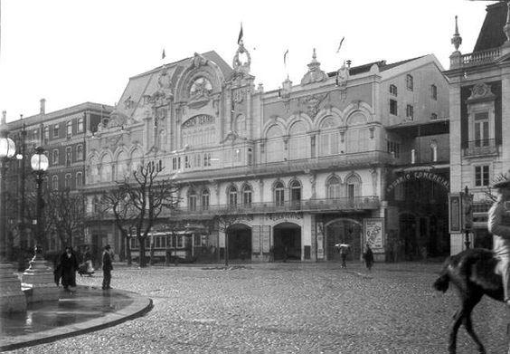 Antigo EDEN teatro, Lisboa, 1914