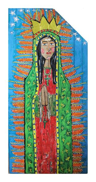 Lady of Guadalupe by JC