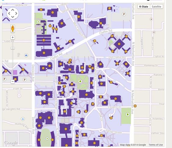 An interactive campus map of all three campuses Manhattan Olathe – Manhattan Interactive Map