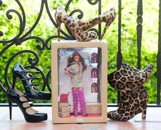 Christian Louboutin ooommgeee LOVE the leopard booties to the right