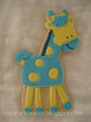 giraffe cookie