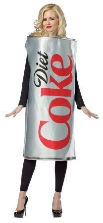 partyland diet coke can adult halloween costume - Partyland Halloween Costumes