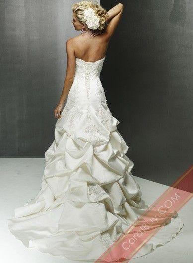 Sweetheart Wedding Dresses,Satin Wedding Dresses