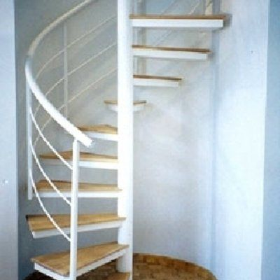 Escada caracol de ferro usada