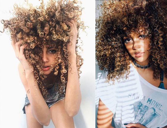 Trucos de una 'curly girl'