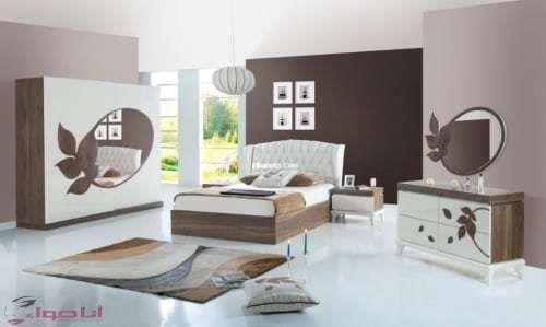 غرف نوم مودرن وكلاسيك اجمل 100 صور غرف نوم مجلة انا حواء Room Design Bedroom Bedroom Bed Design Room Color Design