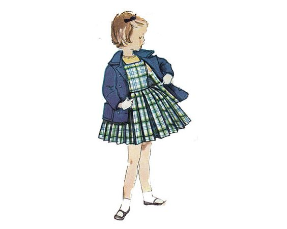 Baby or Toddler JUMPER and COAT Sewing Pattern by HoneymoonBus, $8.99
