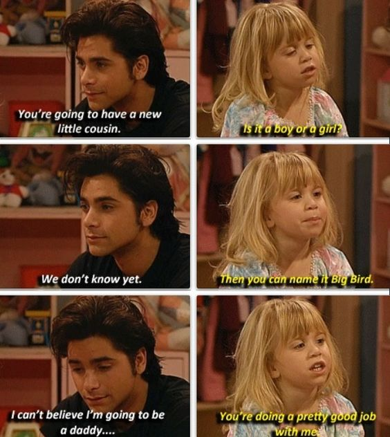 Uncle Jesse may be shrink to the rest of the family but Michelle has always been his own go-to
