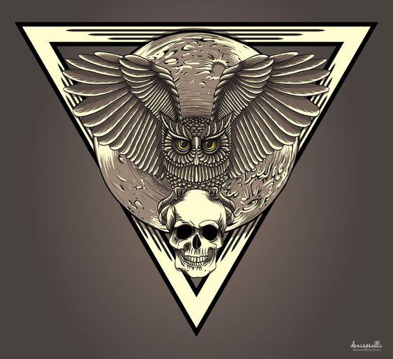 owl art - Pesquisa Google