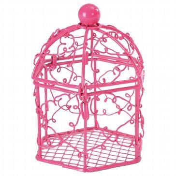 Süßes Voilere in rosa für Gastgeschenke zur Hochzeit