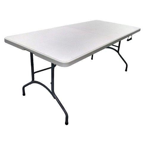 6 Folding Banquet Table Plastic Dev Group Target Banquet