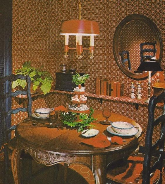 1970 s Decorating Tips, Texture and Pattern