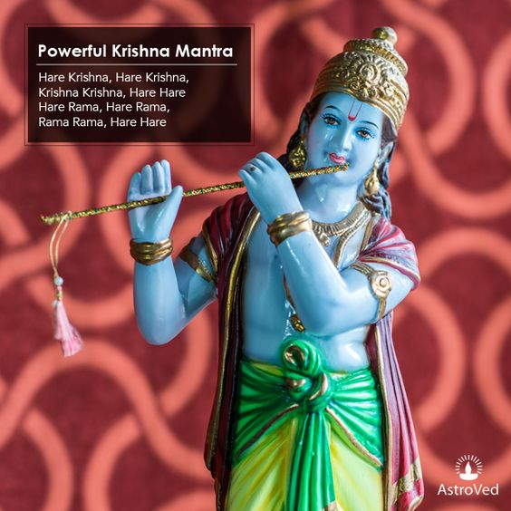What color is Lord Krishna's aura? Tap in and chant #MantraMonday http://www.astroved.com/articles/why-is-krishna-blue