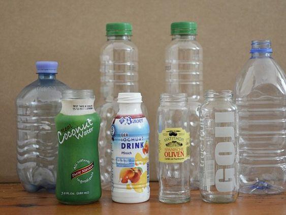 DIY-Anleitung: Dekorative Behälter aus Beton herstellen via DaWanda.com