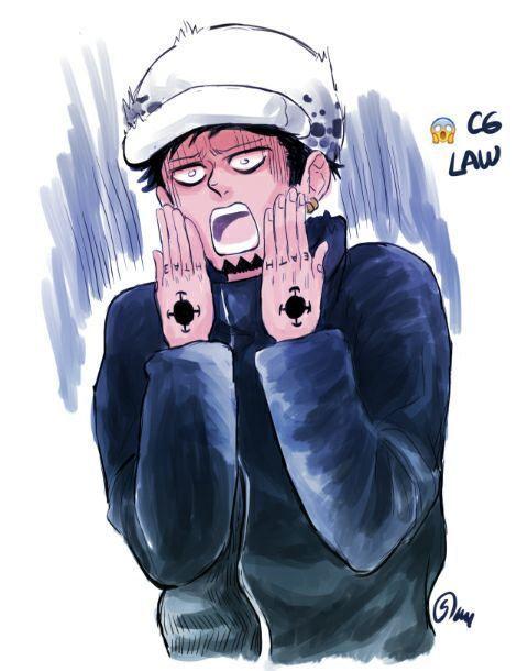 One Piece Trash One Piece Emoji S In 2021 Anime One Piece Trafalgar Law