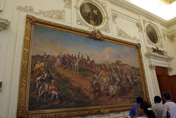Museu do Ipiranga - Quadro Independencia ou Morte, mais conhecido como O Grito do Ipiranga ( oleo sobre tela de Pedro Americo - 1888) - Pesquisa Google