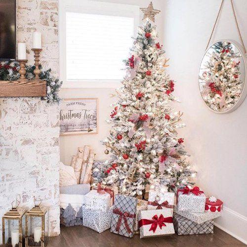 Walmart Instagram Shop White Christmas Tree Decorations