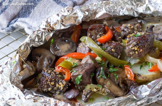 Beef And Veggie Foil Packet Recipe