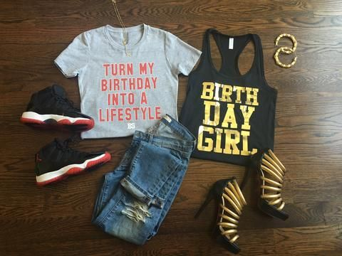Turn your Birthday into a LIFESTYLE! With this hot Birthday Tshirt! Your…
