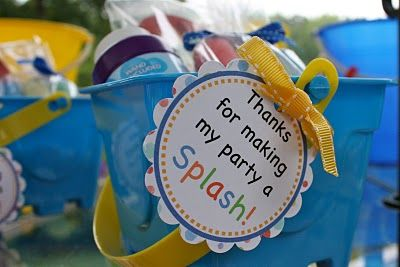 pool party favors