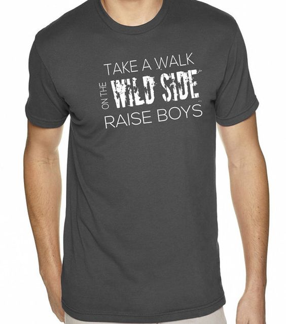 Gift for Mom Gift for Dad Take a Walk on the Wild by threadedtees