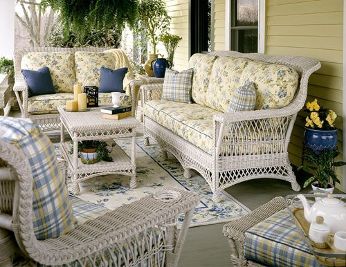 Indoor Rattan And Wicker Living Room, White Wicker Living Room Furniture