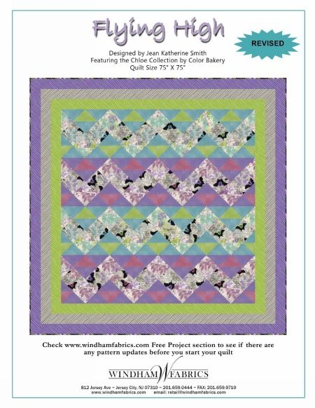 Flying High by Jean Katherine Smith, free pattern