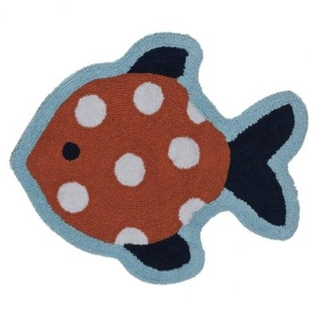 Rugs bath rugs and life on pinterest for Fish bath rug