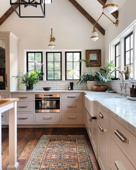 Beautiful And Inspiring Kitchen Design Ideas From Pinterest Jane At Home Kitchen Inspiration Design Interior Design Kitchen White Wood Kitchens