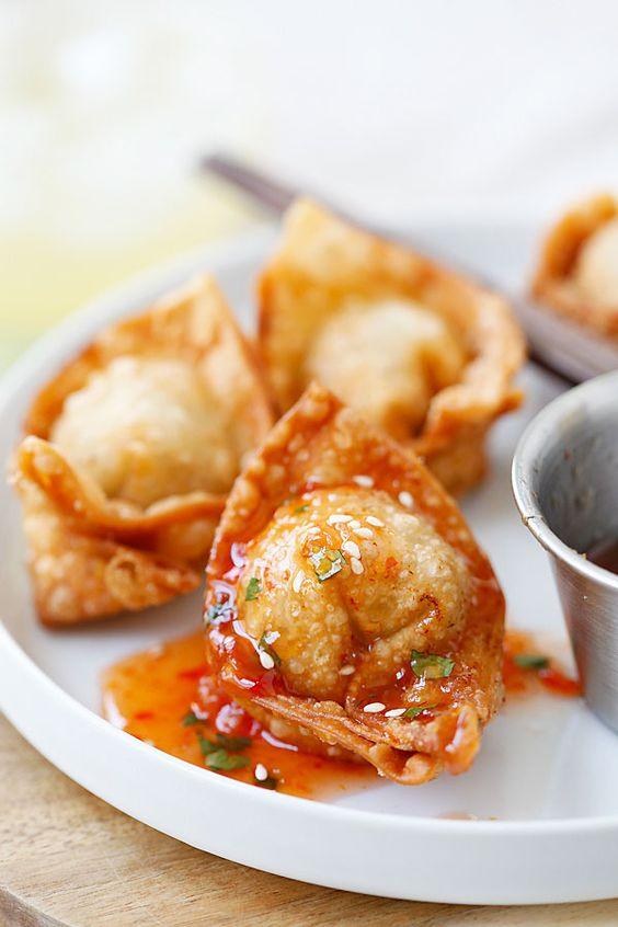 Fried wontons – BEST wontons recipe! Homemade, crispy, simple ...