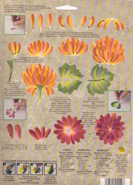 donna dewberry rtg   Chrysanthemum One Stroke RTG 1149 Donna Dewberry   eBay