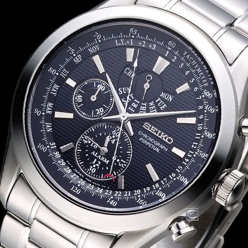Mens Armani Chronograph Watch Images