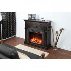 Le foyer électrique Finley est doté d'un âtre de 58, 4 cm (23 po), dont la…