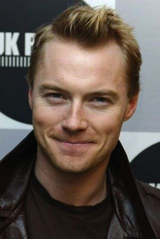 Ronan Keating…gingerly love :)) Irish but we'll add him to the list
