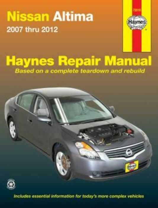Advertisement Ebay Haynes Workshop Manual Nissan Altima 2007 2012 New Service Repair With Images Nissan Altima