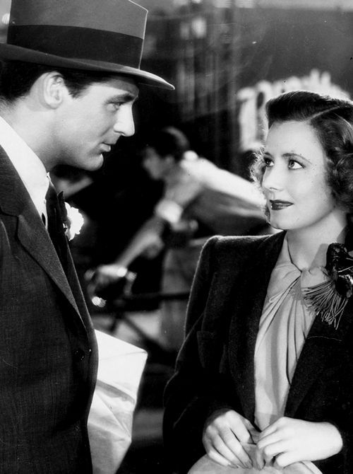 Cary Grant and Irene Dunne