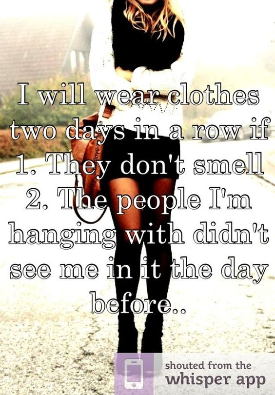 17 Candid Style Confessions Found On Whisper
