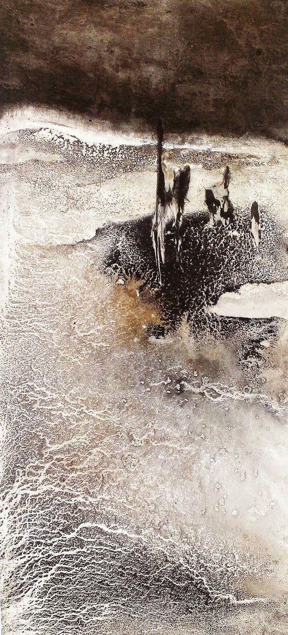 LI CHEVALIER: li chevalier experimental ink paintings