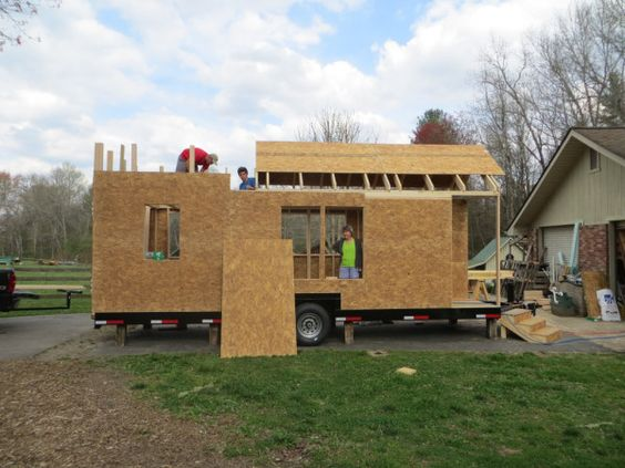 step by step - How to Build a Tiny House: The Robins Nest by Brevard Tiny House Co.