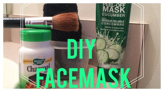 DIY Peel Off Mask with Activated Charcoal
