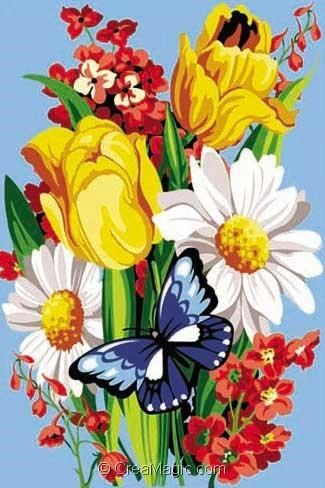 Virevolte 928 363 canevas fleurs et plantes for Ventes de plantes par internet
