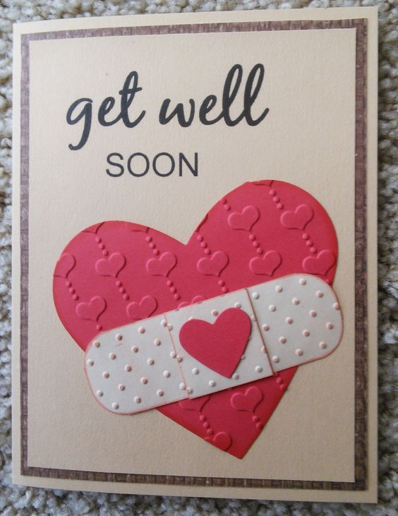 Beautiful Diy Get Well Soon Card Ideas K4 Craft Get Well Cards Paper Cards Recovery Cards