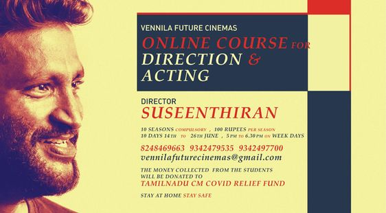 Director Suseenthiran Online Course For Direction & Acting