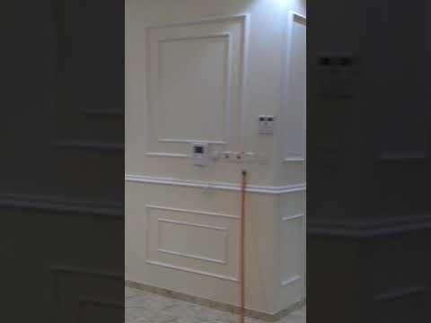فوم او جبسيات تبوك 0500689813 Youtube Bathroom Design Luxury Tall Cabinet Storage Bedroom Interior