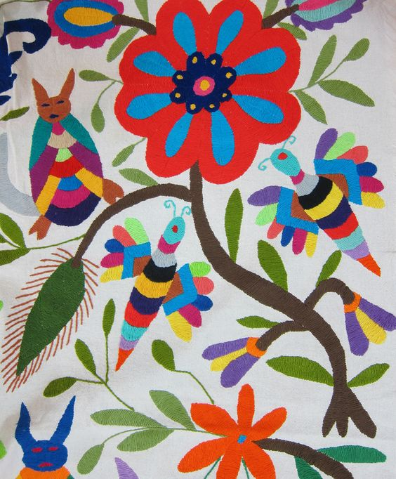m8 Beautiful Mexican Embroideries.